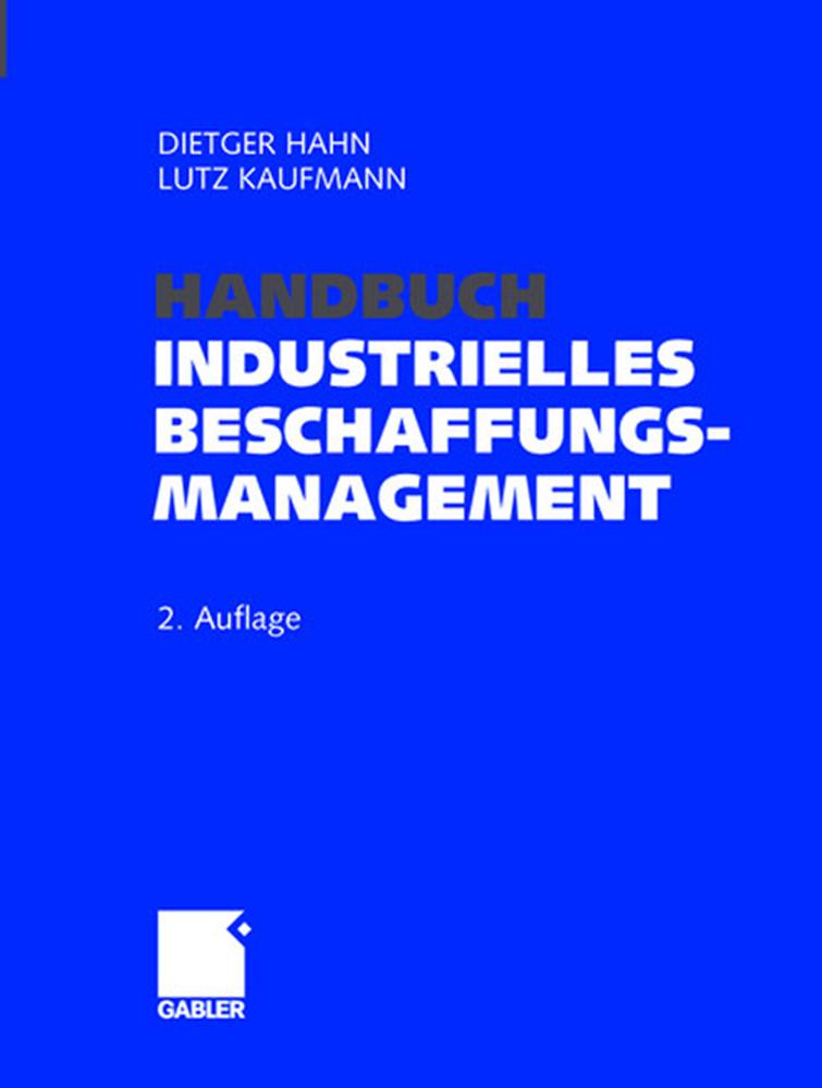 Handbuch Industrielles Beschaffungsmanagement a...
