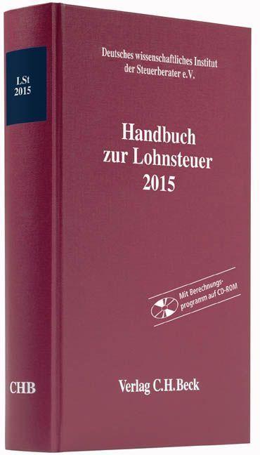 Handbuch zur Lohnsteuer 2015
