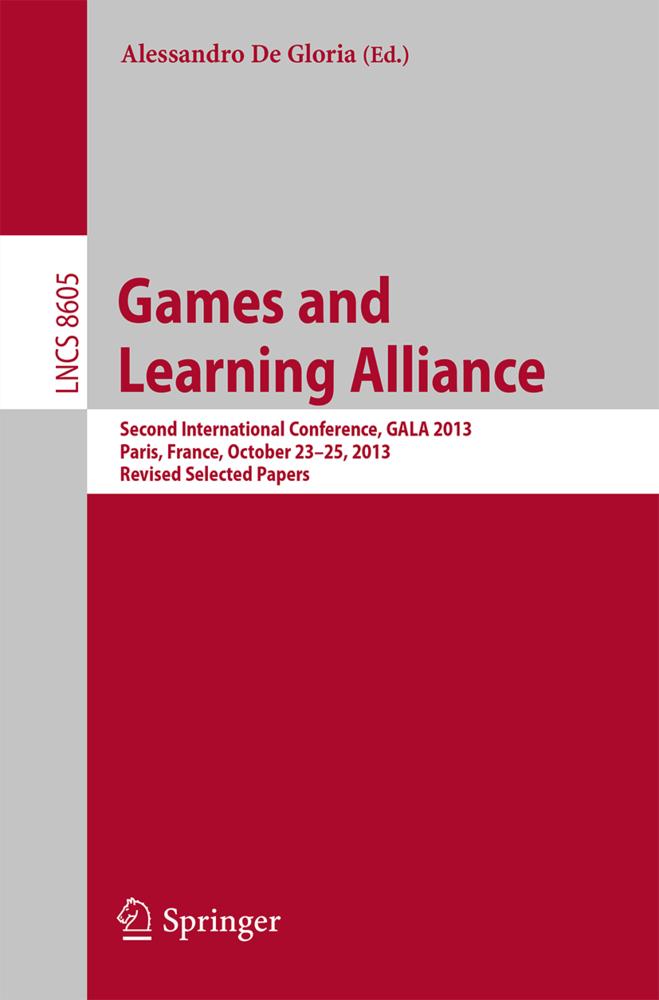Games and Learning Alliance als Buch von