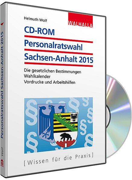 CD-ROM Personalratswahl Sachsen-Anhalt 2015