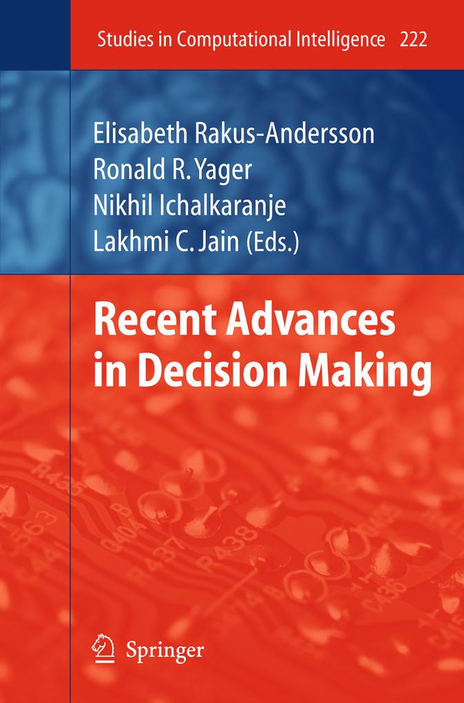 Recent Advances in Decision Making als eBook Do...