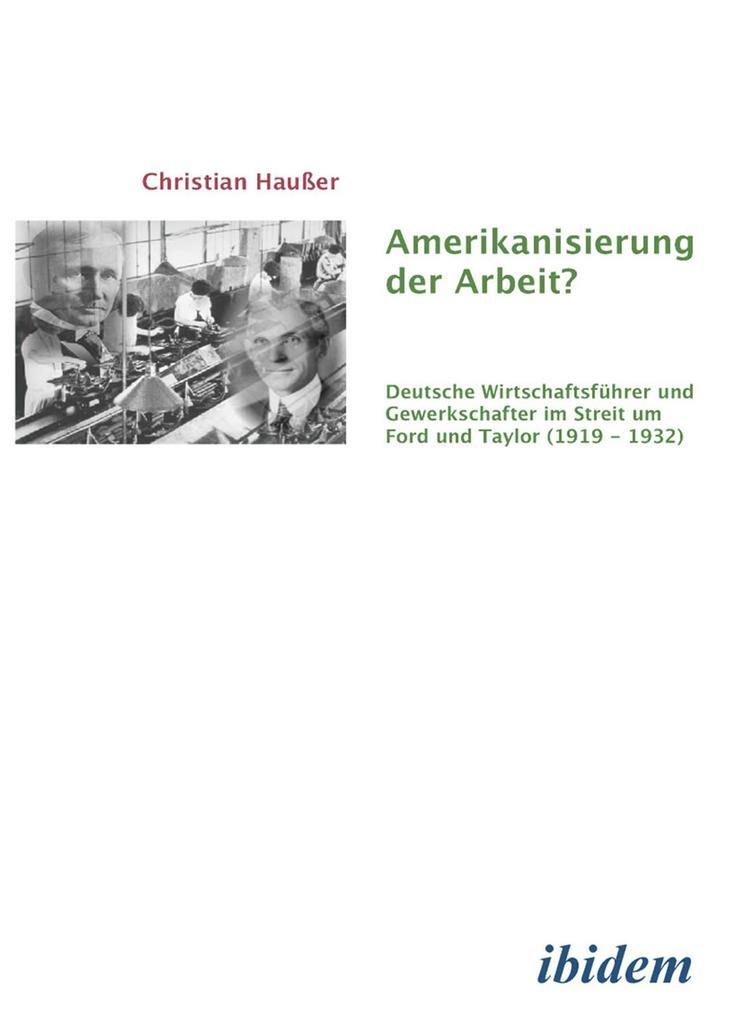 Amerikanisierung der Arbeit? als eBook Download...