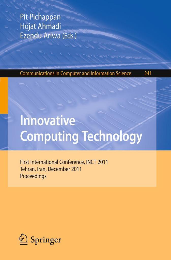 Innovative Computing Technology als eBook Downl...