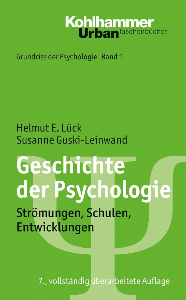 Geschichte der Psychologie als Taschenbuch von ...