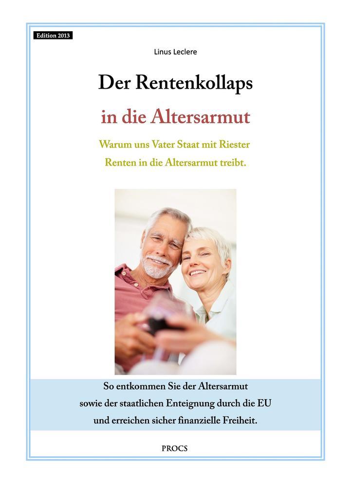 Der Rentenkollaps in die Altersarmut als eBook ...