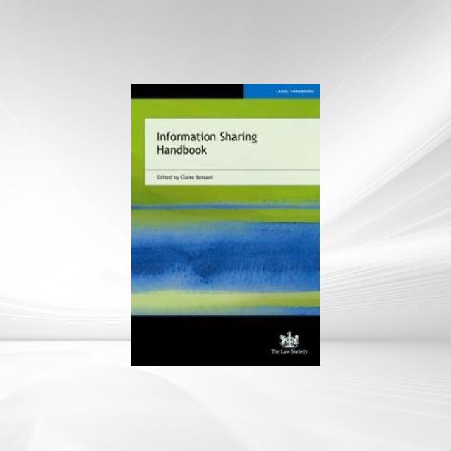 Information Sharing Handbook als eBook Download...