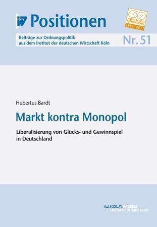 Markt kontra Monopol als eBook Download von Hub...