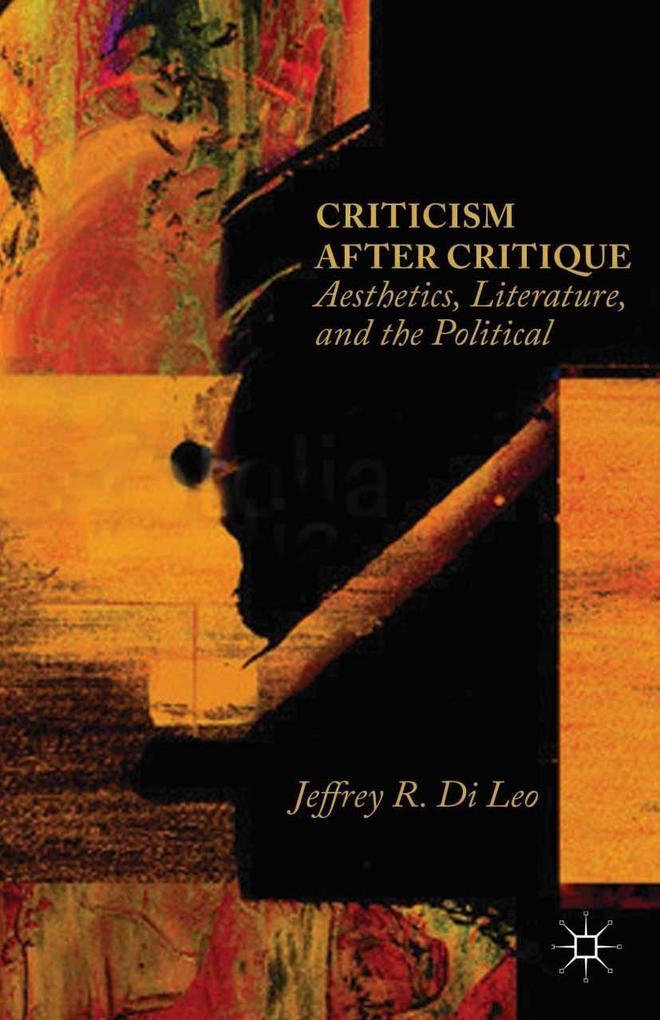 Criticism after Critique als eBook Download von