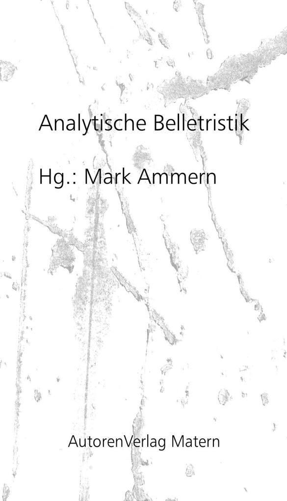 Vorschaubild von Analytische Belletristik als eBook Download von