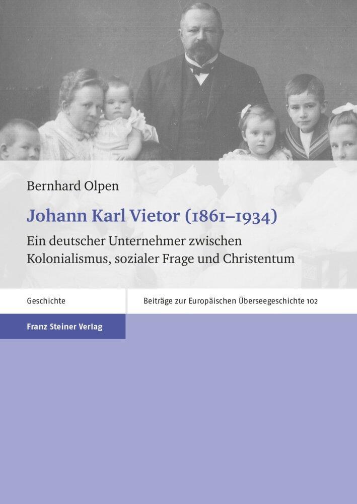 Johann Karl Vietor (1861-1934) als Buch von Ber...