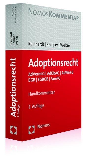 Adoptionsrecht als Buch von Jörg Reinhardt, Rai...