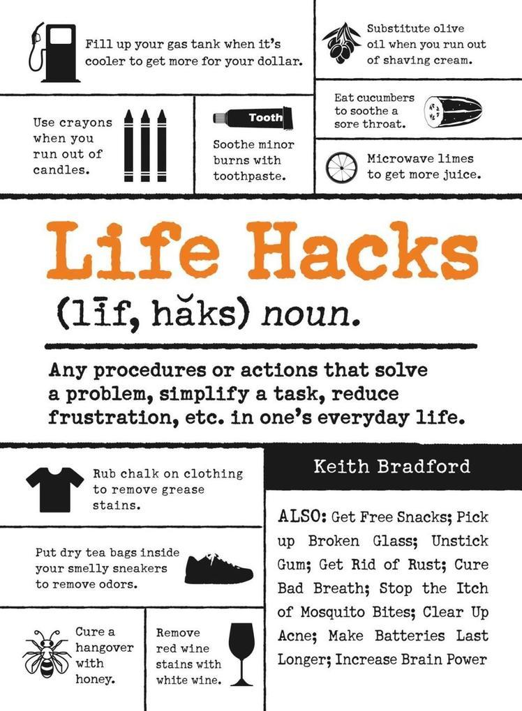 Life Hacks als eBook Download von Keith Bradford