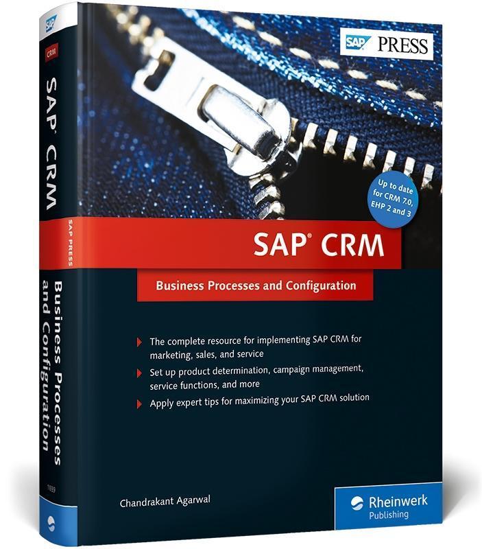 SAP CRM als Buch von Chandrakant Agarwal