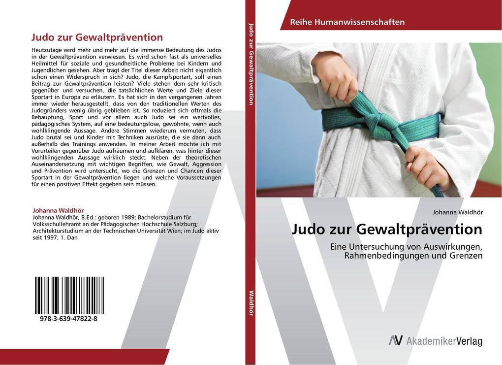 Judo zur Gewaltprävention als Buch von Johanna ...