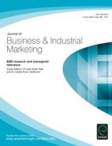 B2B research and managerial relevance als eBook...