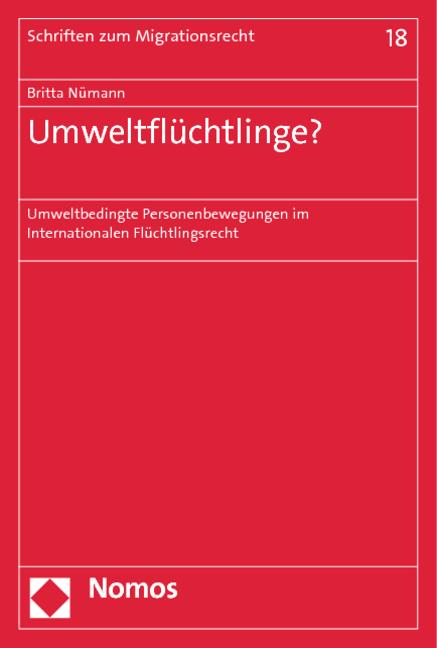 Umweltflüchtlinge? als Buch von Britta Nümann