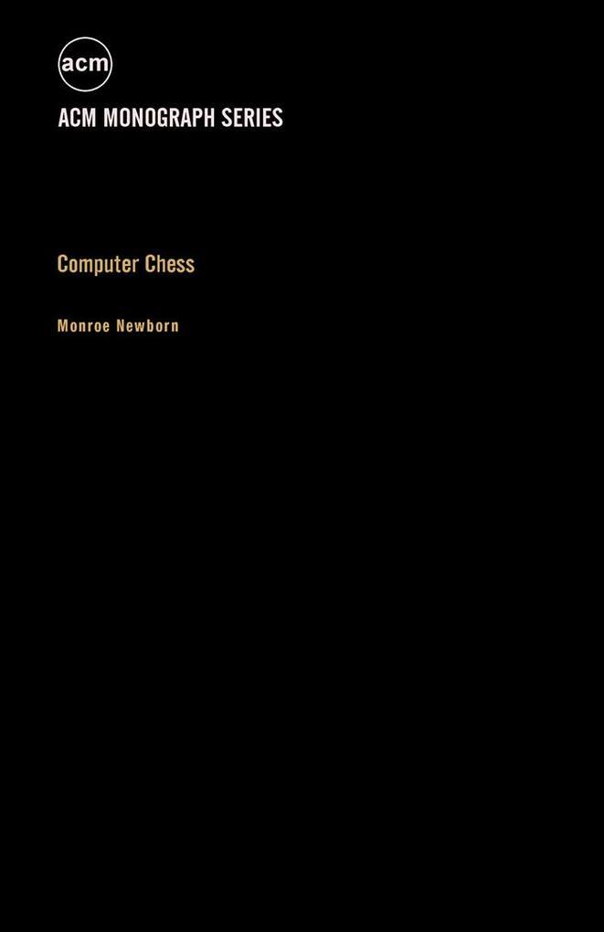 Computer Chess als eBook Download von Monroe Ne...