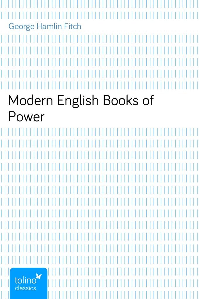Modern English Books of Power als eBook Downloa...