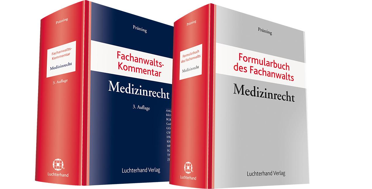 Bundle Fachanwaltskommentar Medizinrecht + Form...