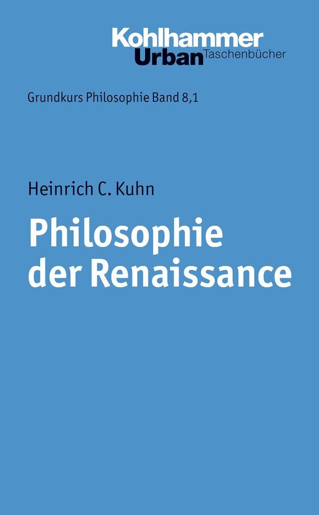 Philosophie der Renaissance als eBook Download ...