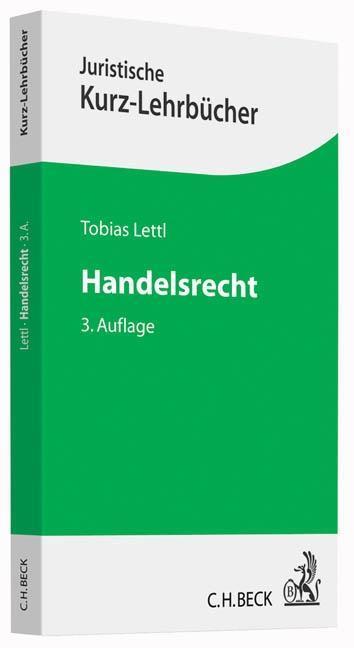 Handelsrecht als Buch von Tobias Lettl