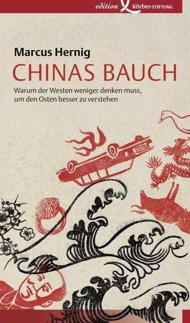 Chinas Bauch als Buch von Marcus Hernig