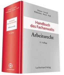 Handbuch des Fachanwalts Arbeitsrecht als Buch von