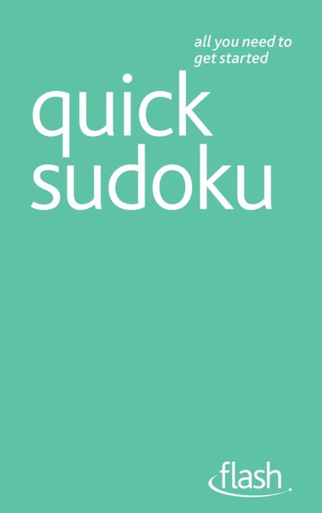 Quick Sudoku: Flash als eBook Download von Jame...