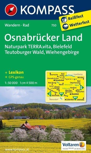 Osnabrücker Land 1 : 50 000 als Buch von