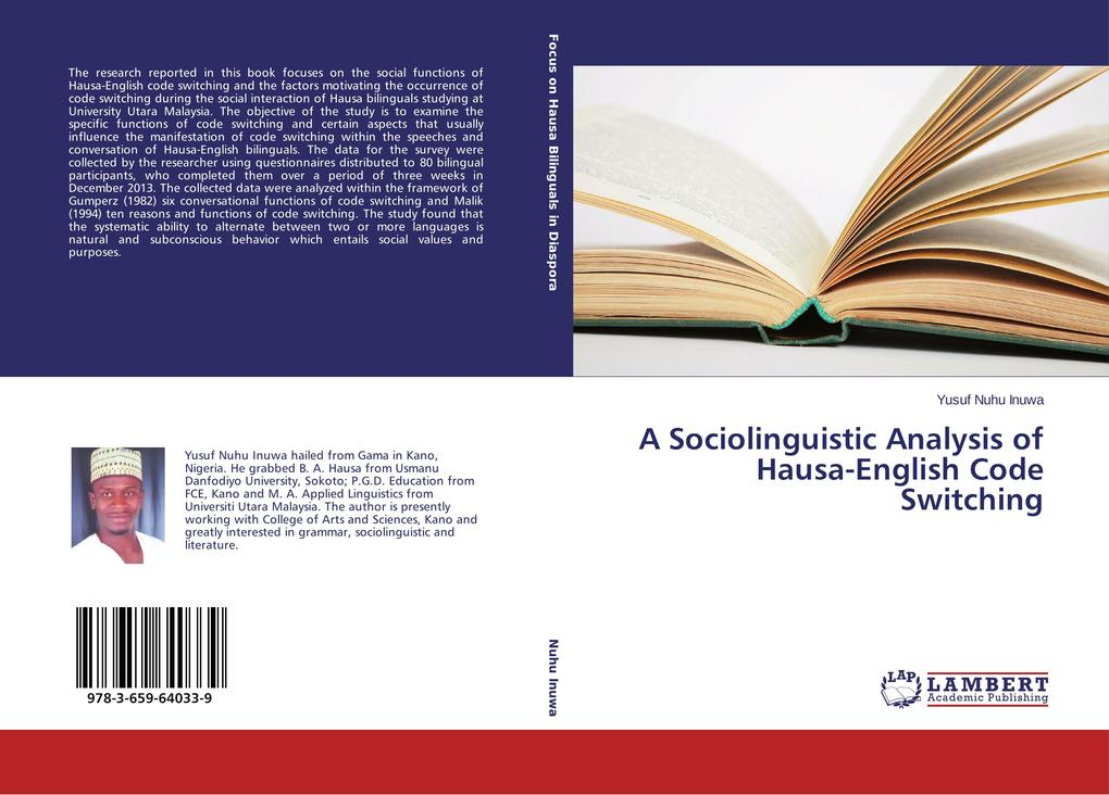 A Sociolinguistic Analysis of Hausa-English Cod...