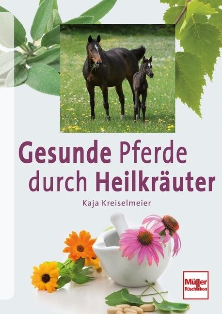 Pferde gesund und vital durch Heilkräuter als B...