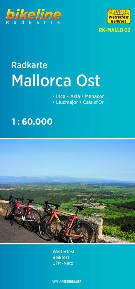 Bikeline Radkarte Mallorca Ost als Buch von