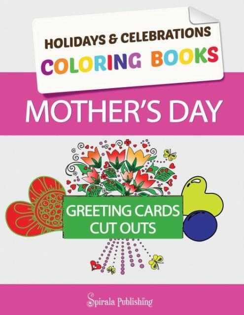 Mother´s Day Coloring Book Greeting Cards als T...