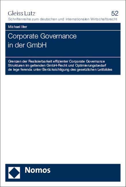 Corporate Governance in der GmbH als Buch von M...