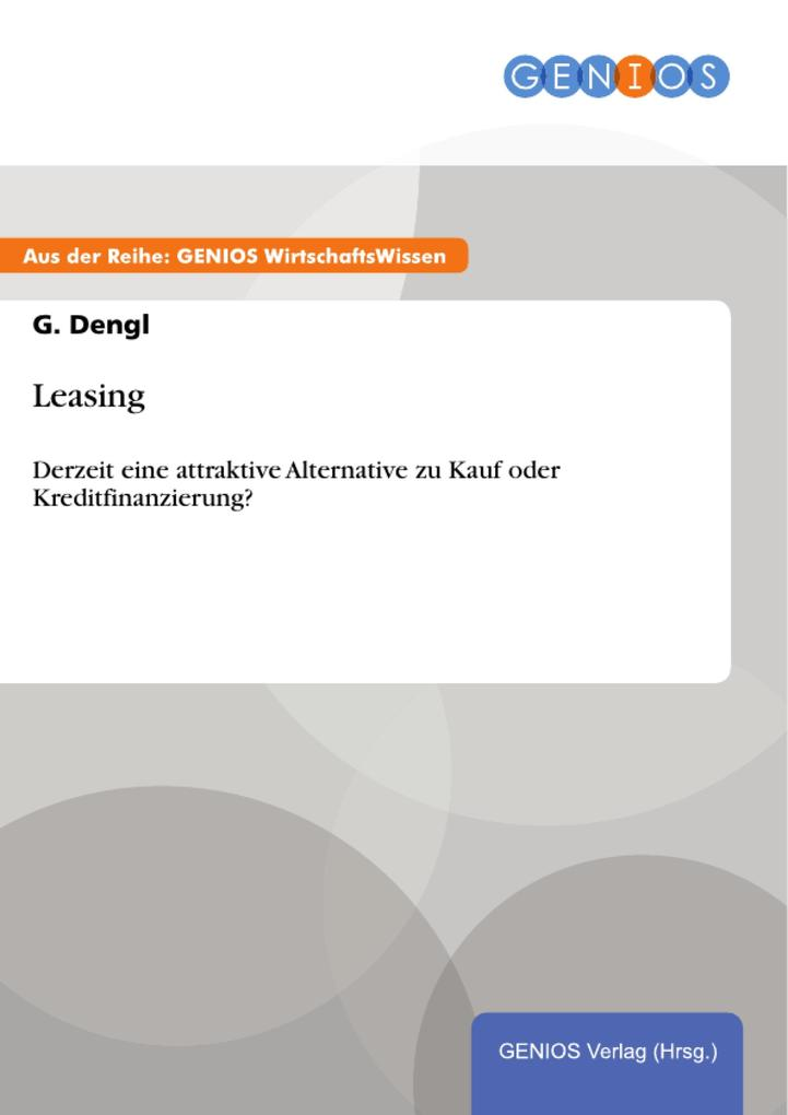 Leasing als eBook Download von G. Dengl