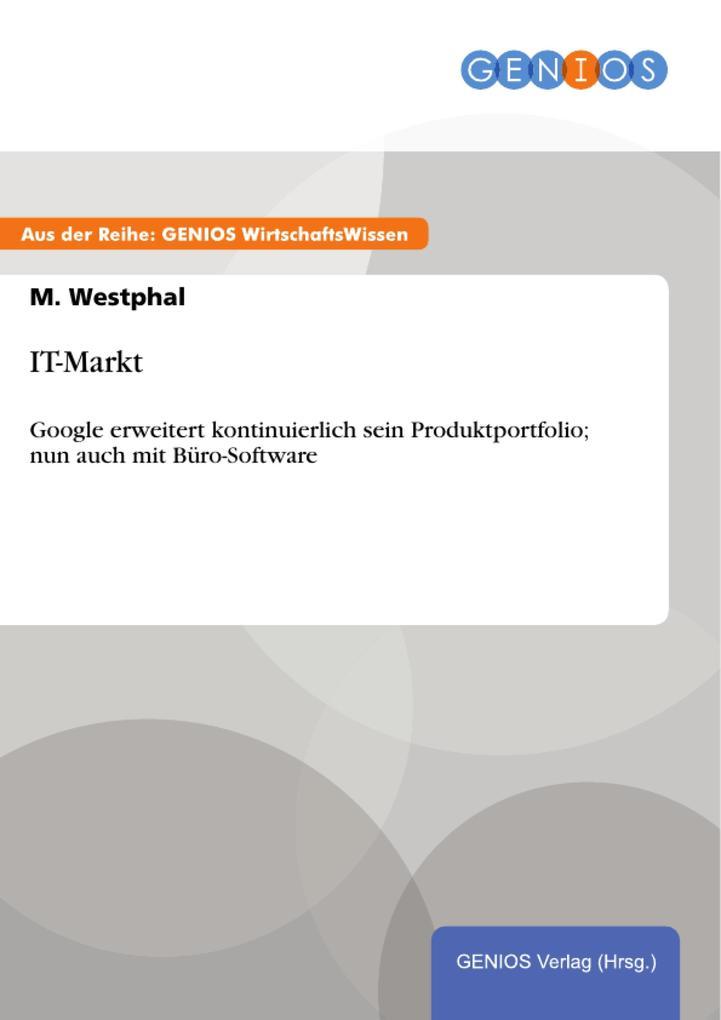 IT-Markt als eBook Download von M. Westphal