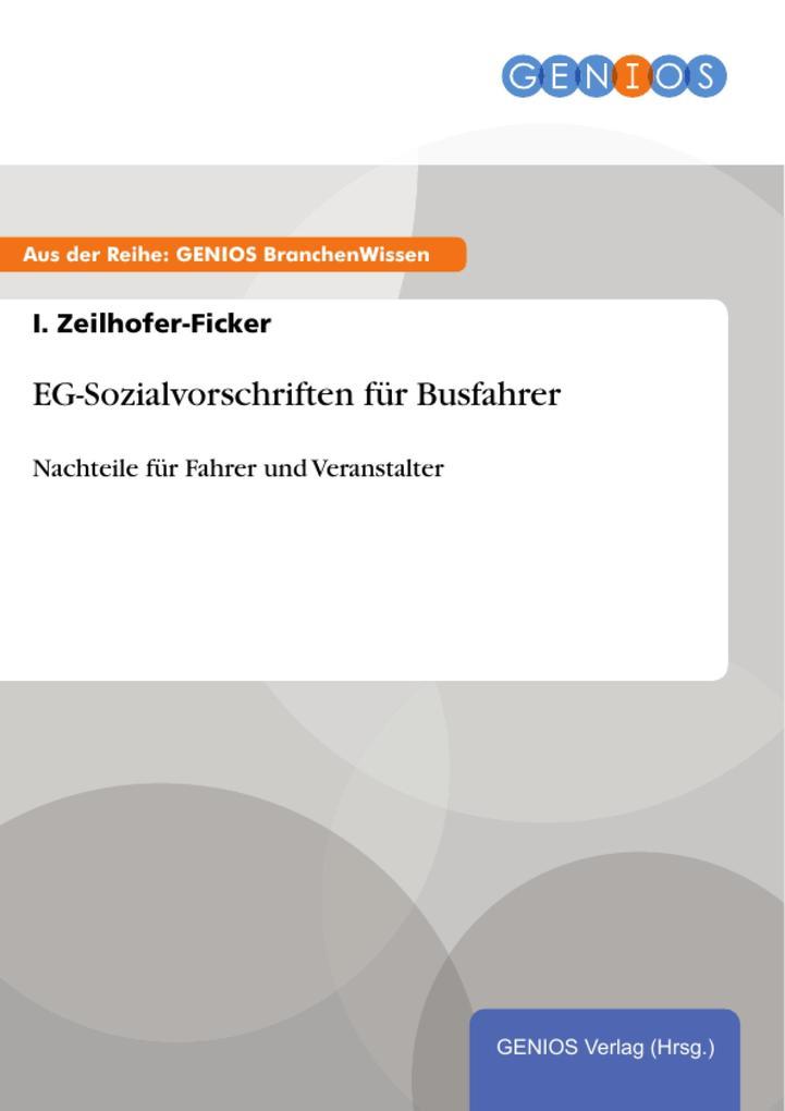 EG-Sozialvorschriften für Busfahrer als eBook D...