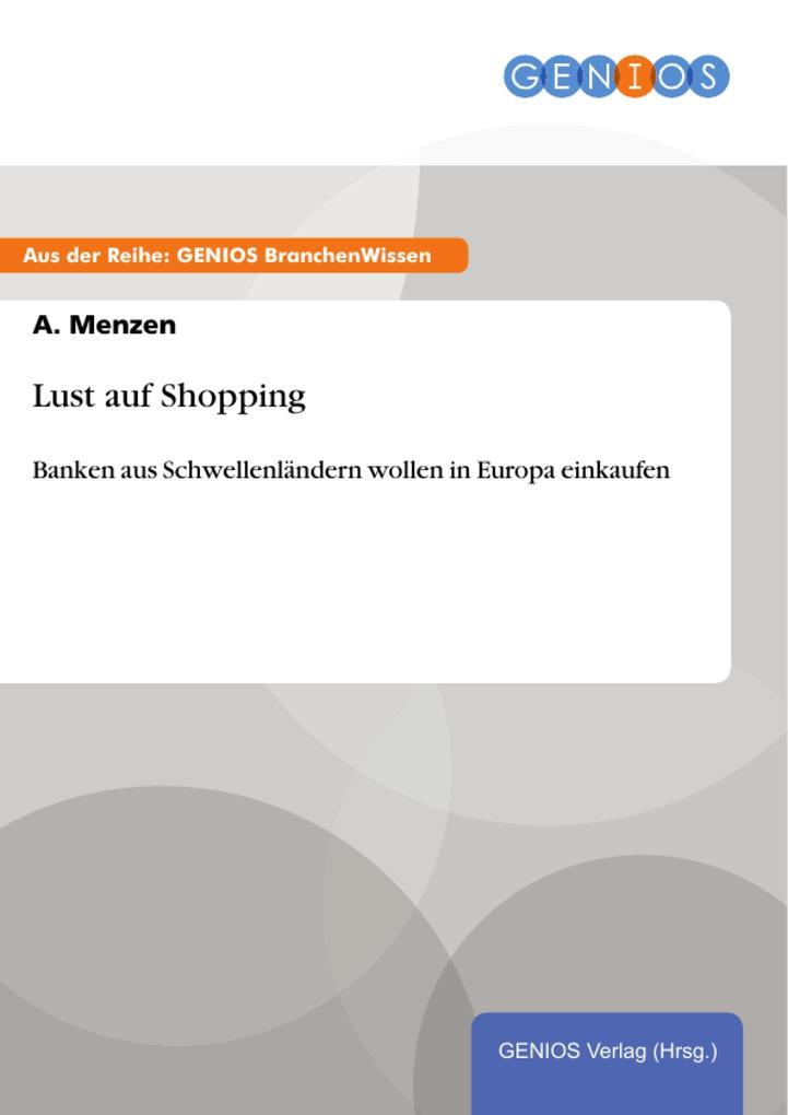 Lust auf Shopping als eBook Download von A. Menzen