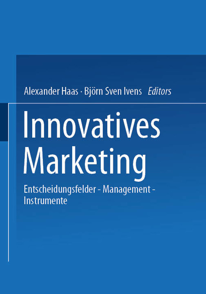 Innovatives Marketing als eBook Download von
