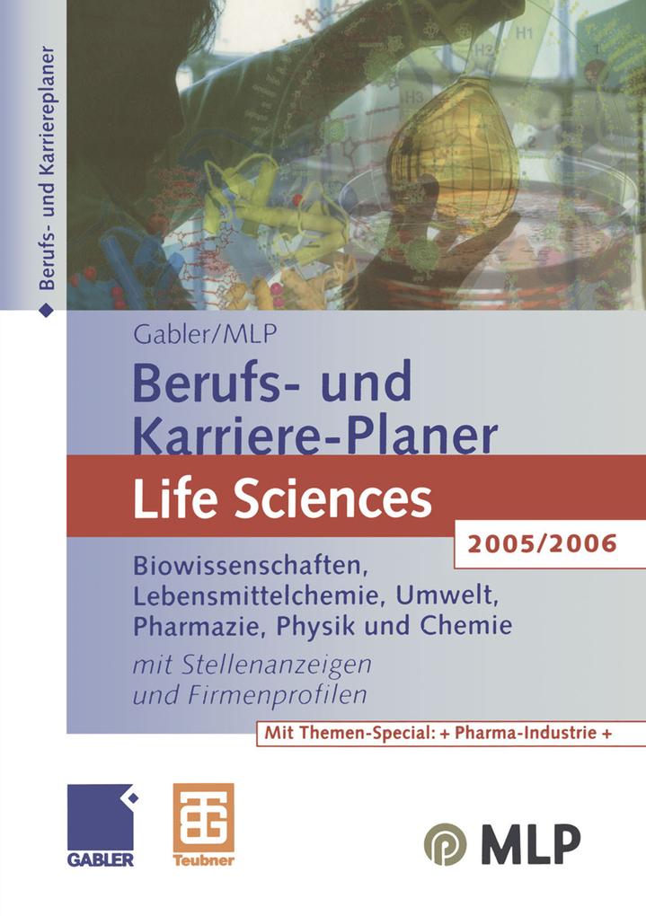 Gabler / MLP Berufs- und Karriere-Planer Life S...