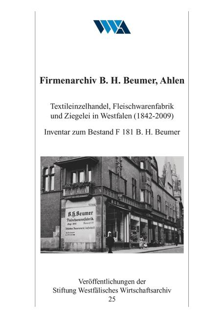 Firmenarchiv B. H. Beumer, Ahlen als Buch von