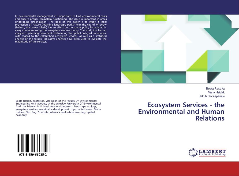 Ecosystem Services - the Environmental and Huma...