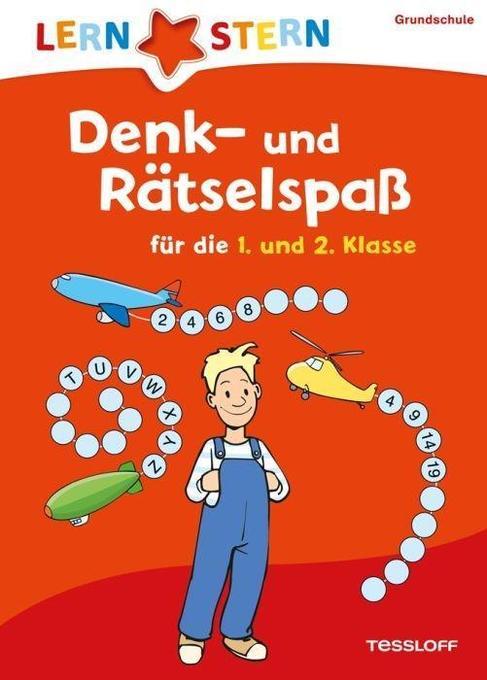 Lernstern: Denk- und Rätselspaß für die 1. und ...