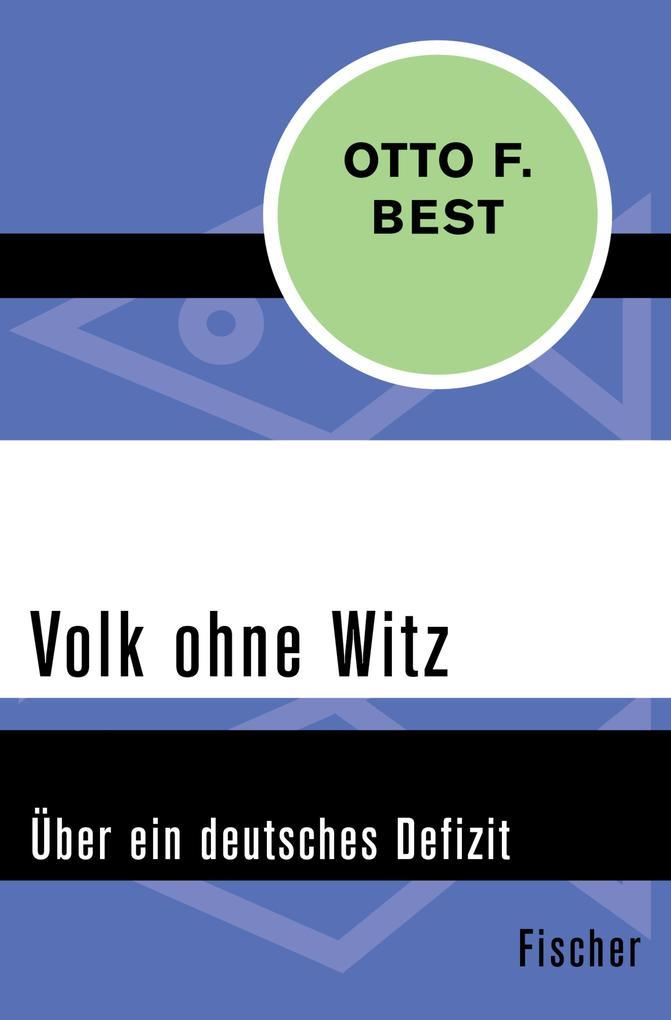 Volk ohne Witz als eBook Download von Otto F. Best