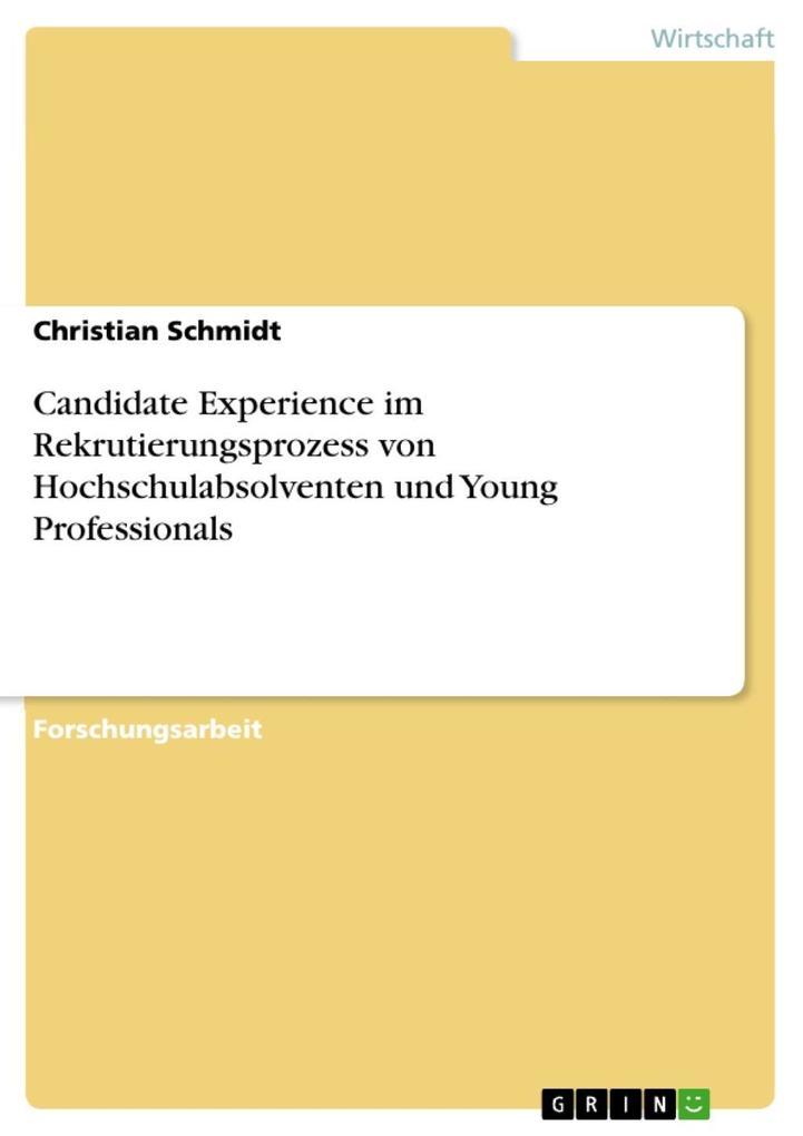 Candidate Experience im Rekrutierungsprozess vo...