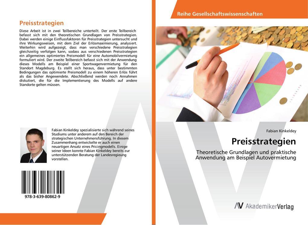 Preisstrategien als Buch von Fabian Kinkeldey