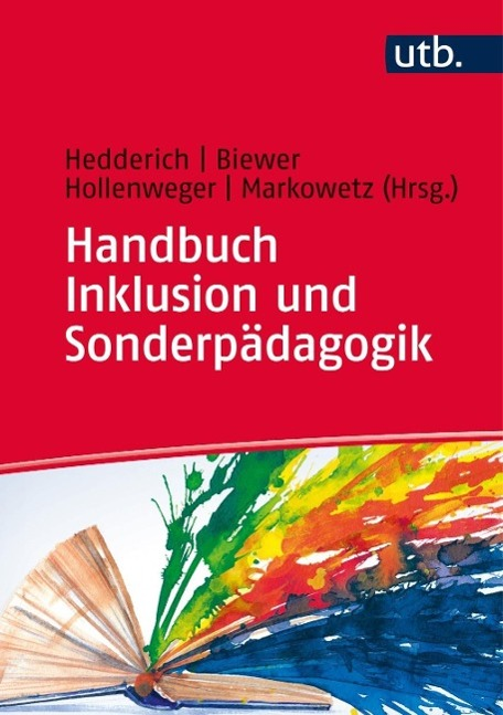 Handbuch Inklusion und Sonderpädagogik als Buch...