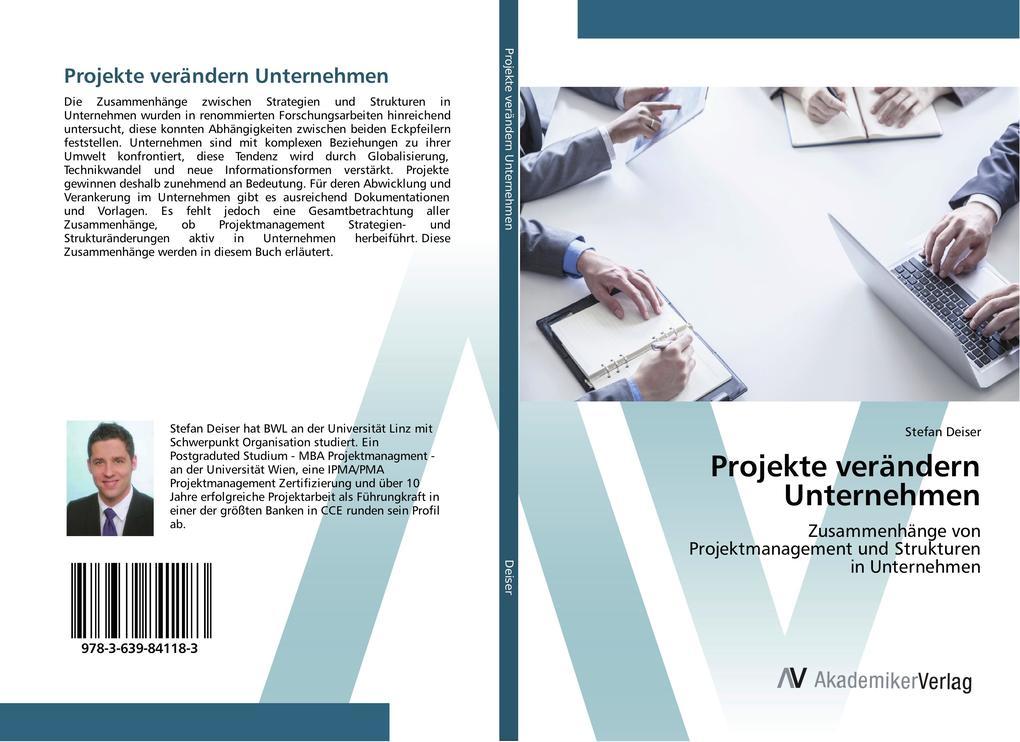 Projekte verändern Unternehmen als Buch von Ste...