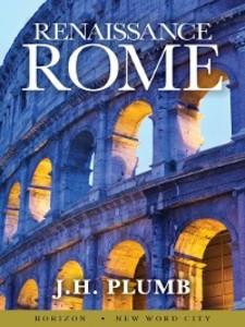 Renaissance Rome als eBook Download von J.H. Plumb