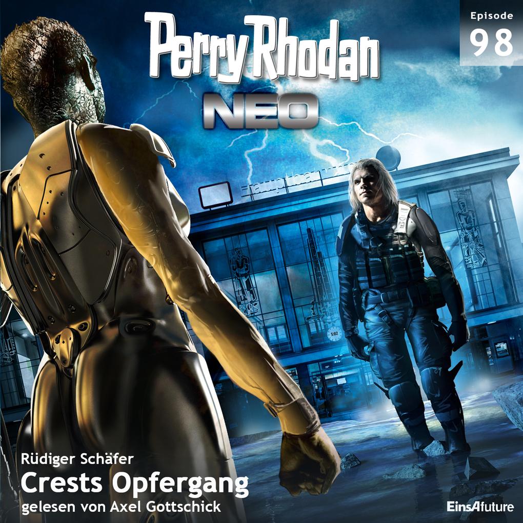 Perry Rhodan Neo 98: Crests Opfergang als Hörbu...